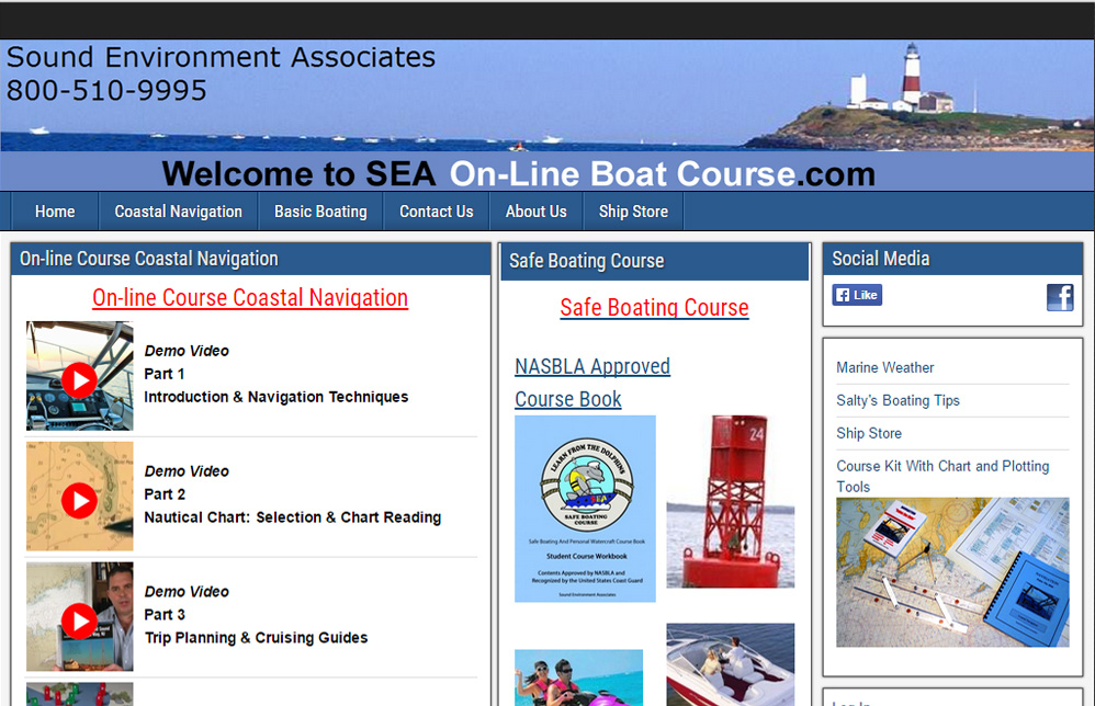 Online Boat Course