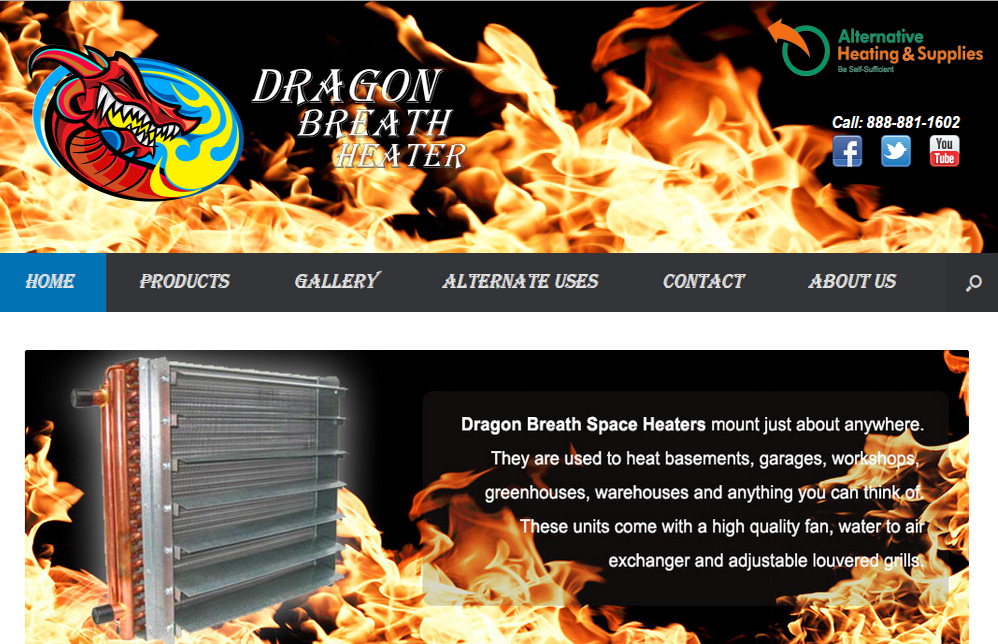 Dragon Breath Heaters